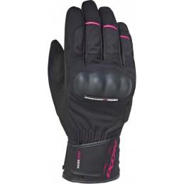 Dámske rukavice na motorku IXON Pro Russel black/pink