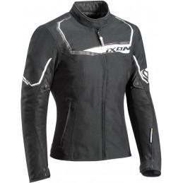 Dámska bunda na motorku IXON Challenge black/white