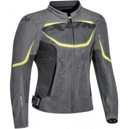 Dámska bunda na motorku IXON Sprinter grey/yellow