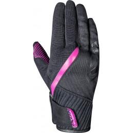 Dámske rukavice na motorku IXON  RS Wheelie black/pink