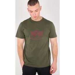 Alpha Industries pánske tričko Basic military green
