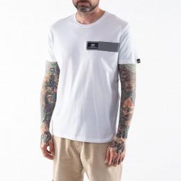 Alpha Industries pánske tričko Reflective Stripes  white