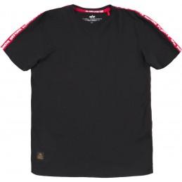 Tričko ALPHA INDUSTRIES RBF Tape T-Shirt black