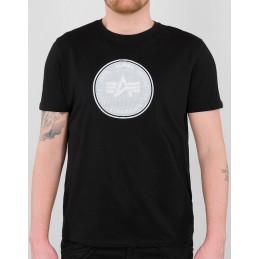 Tričko ALPHA INDUSTRIES Hologram T-Shirt black