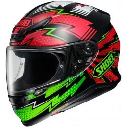 Prilba na motorku SHOEI NXR Variable black/green/red