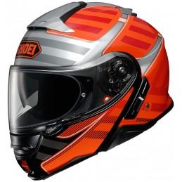 Prilba na motorku SHOEI Neotec 2 Splicer black/orange
