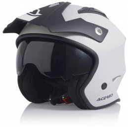 Prilba na motorku ACERBIS Aria white/black