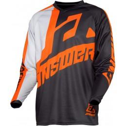 MX dres na motorku ANSWER Syncron Voyd grey/orange