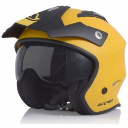 Prilba na motorku ACERBIS Aria yellow/black