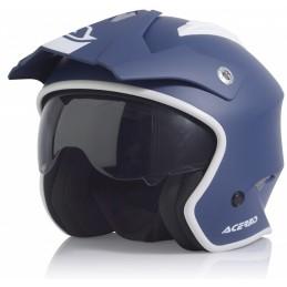 Prilba na motorku ACERBIS Aria blue/white
