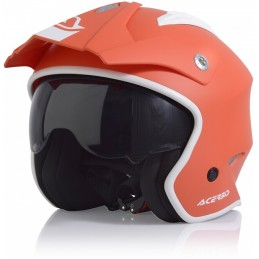 Prilba na motorku ACERBIS Aria orange/white