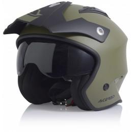 Prilba na motorku ACERBIS Aria olive