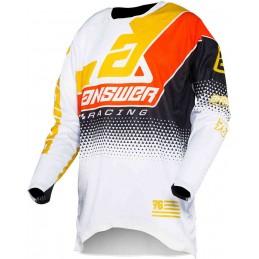 MX dres na motorku ANSWER Elite Korza white/black/red