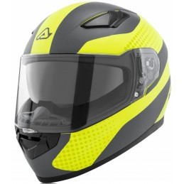 Prilba na motorku ACERBIS Full Face X-Street yellow/gray