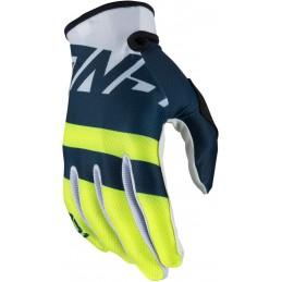 MX rukavice na motorku ANSWER AR1 Voyd white/blue/neon