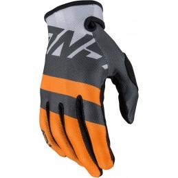 MX rukavice na motorku ANSWER AR1 Voyd gray/orange