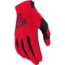 MX rukavice na motorku ANSWER AR2 Bold red/black