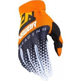MX rukavice na motorku ANSWER AR3 Korza orange/black/white