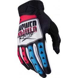 MX rukavice na motorku ANSWER AR3 Korza black/white/pink