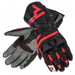 Dámske rukavice REBELHORN ST čierno-červené