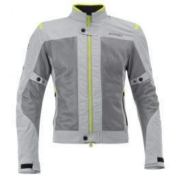 Dámska bunda na motorku ACERBIS Ramsey Vented grey/yellow