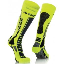 Ponožky ACERBIS Pro black/yellow junior