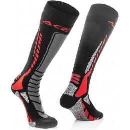 Ponožky ACERBIS Pro black/red junior