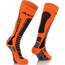 Ponožky ACERBIS Pro black/orange junior