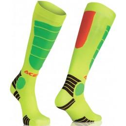 Ponožky ACERBIS Impact yellow junior