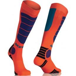 Ponožky ACERBIS Impact orange junior