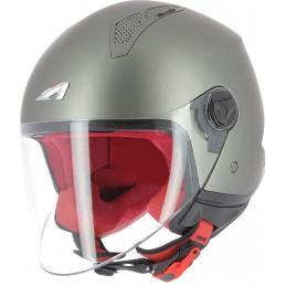 Prilba na motorku ASTONE Minijet Monocolor matt/gun