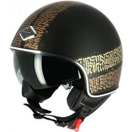 Prilba na motorku ASTONE Abstract Cali black matt