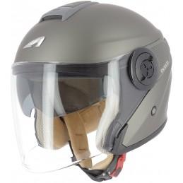 Prilba na motorku ASTONE DJ10-2 Monocolor brown matt