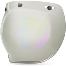 Plexi na prilbu BELL Custom 500 Bubble Visor silver