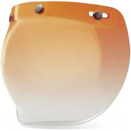 Plexi na prilbu BELL Custom 500 Bubble Visor orange