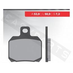 Brzdové platničky NOVASCOOT Organic FT3035
