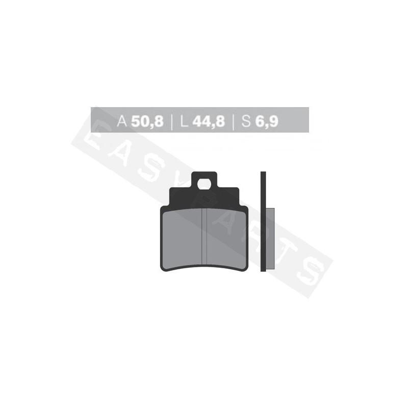 Brzdové platničky NOVASCOOT Organic FT3037