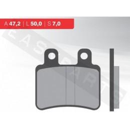 Brzdové platničky NOVASCOOT Organic FT3048