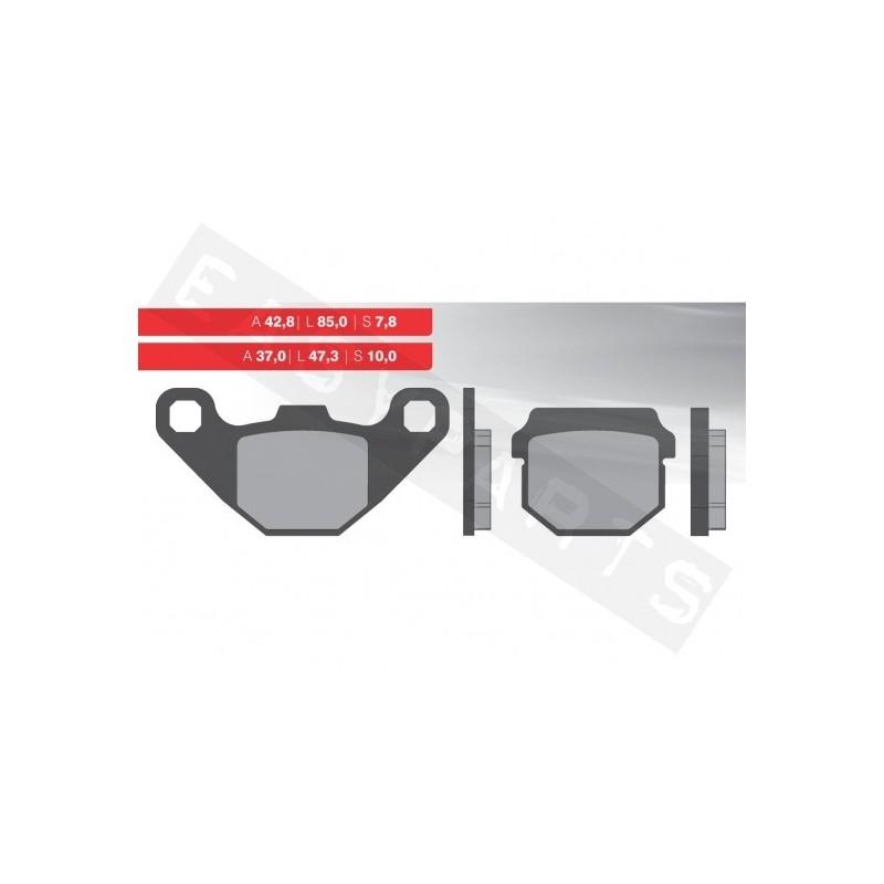 Brzdové platničky NOVASCOOT Organic FT3075