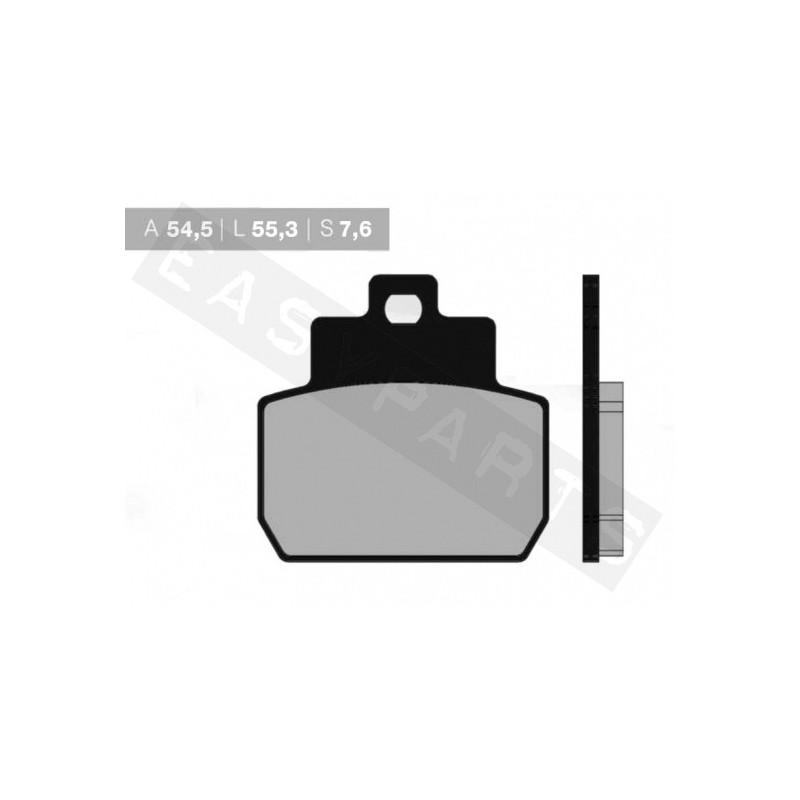 Brzdové platničky NOVASCOOT Organic FT3079