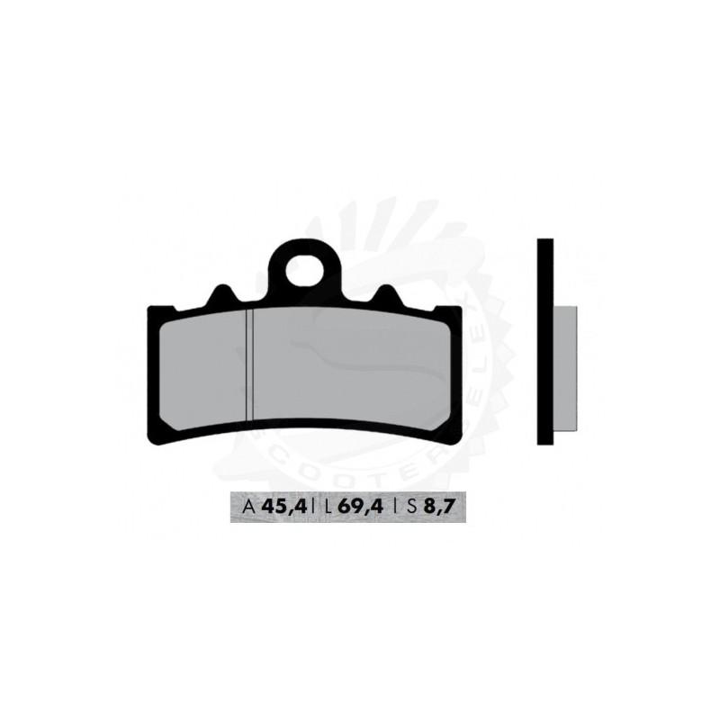 Brzdové platničky NOVASCOOT Organic FT3154