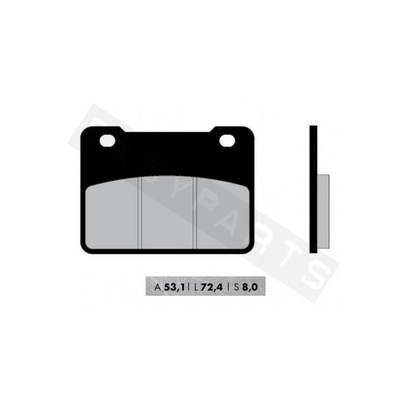 Brzdové platničky NOVASCOOT Organic FT3174