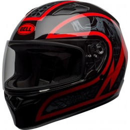 Prilba na motorku BELL Qualifier Scorch black/red