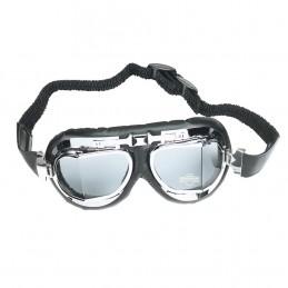 Okuliare na motorku BOOSTER Mark 4 chrome
