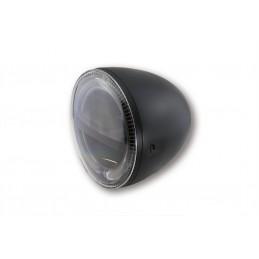 Hlavný LED svetlomet na motorku HIGHSIDER Circle 223-046 black