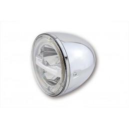 Hlavný LED svetlomet na motorku HIGHSIDER Circle 223-047 chrome