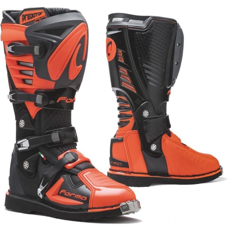 Topánky na motorku FORMA Predator 2.0 black/orange
