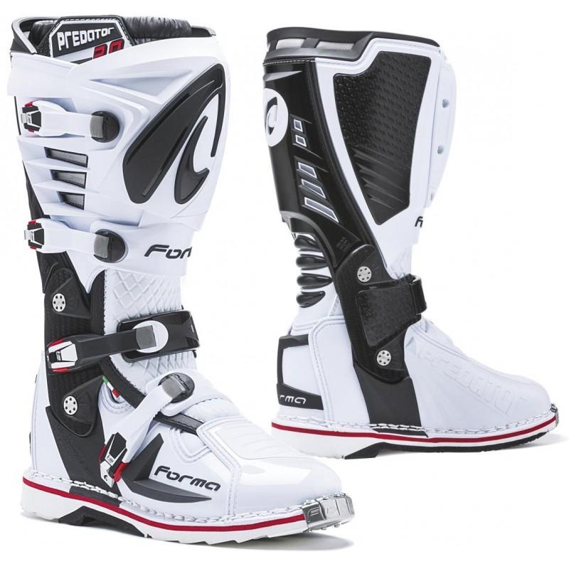 Topánky na motorku FORMA Predator 2.0 white