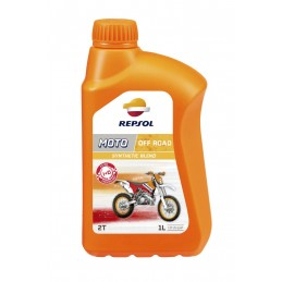 Motorový olej REPSOL Moto Offroad Synthetic blend 2T 1l