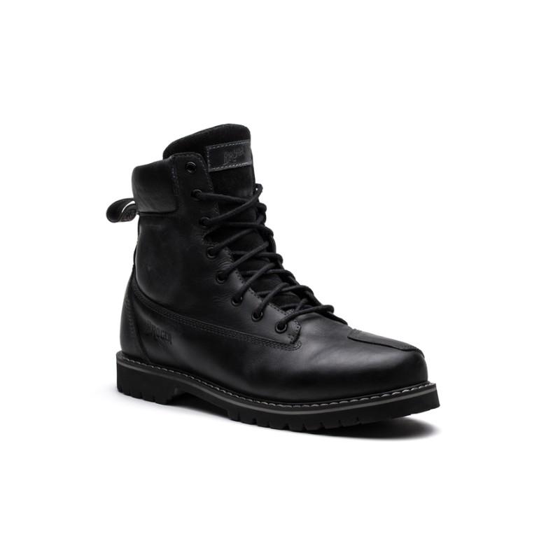 Topánky kožené BROGER alaska čierne